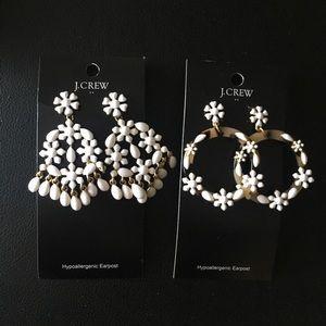2 Pairs Of J. Crew Earrings